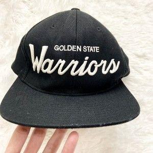 Golden State Warriors Black Snapback